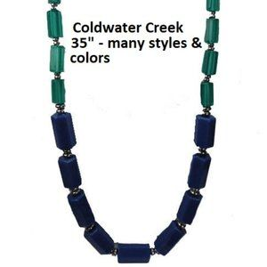 Coldwater Creek Bead Necklace NWT